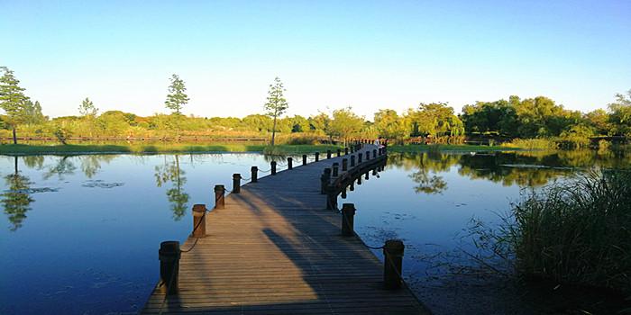 秋天的太白湖,你的样子好美!