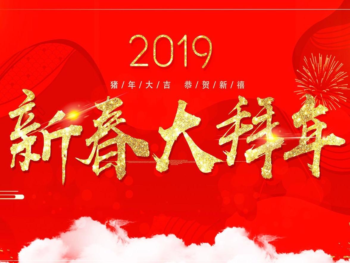 2019新春大拜年
