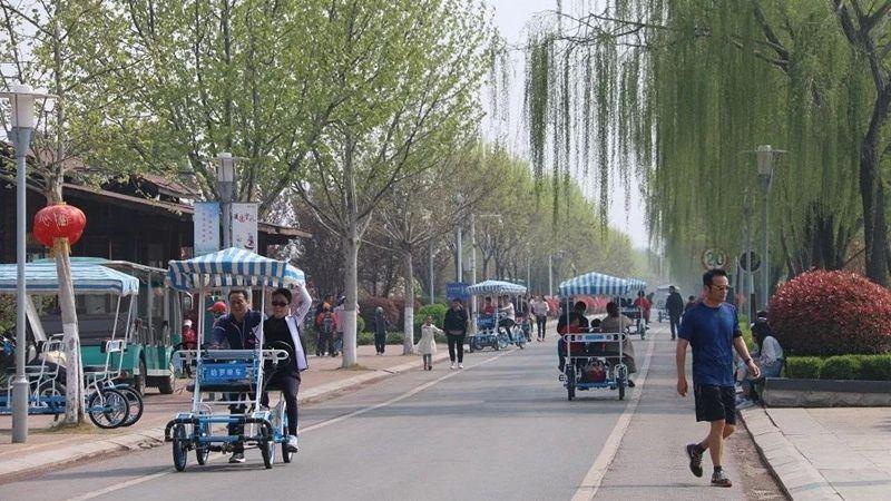 清明小长假第二天 太白湖景区游客量突破3万人次