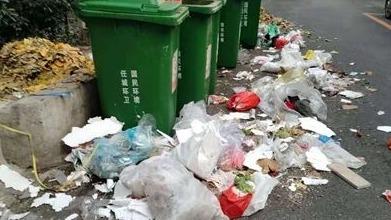 濟寧一清潔公司隨意傾倒垃圾影響市容被罰款