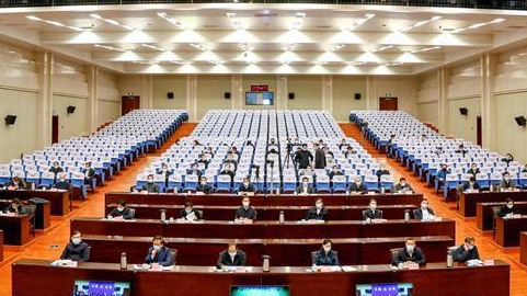 """济宁市组织收看山东省""""重点工作攻坚年""""动员大会"""