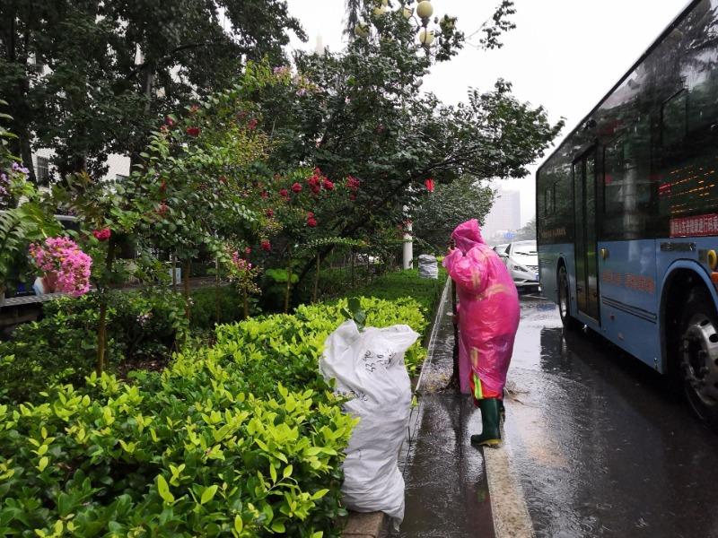 多措并举应对强降雨 济宁城市主次干道未出现大面积积水