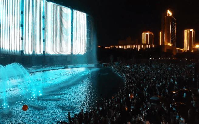 更濟寧丨燃爆了!高新區這個互動音樂噴泉太美太震撼!