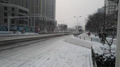 山东发布暴雪蓝色预警和道路结冰黄色预警