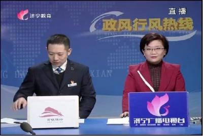 2018年1月18日高铁曲阜东站做客政风行风热线
