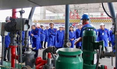 中石化济宁石油公司开放日 市民零距离探秘智慧能源