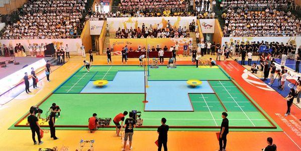 第十七届全国大学生机器人大赛在邹城闭幕(组图)