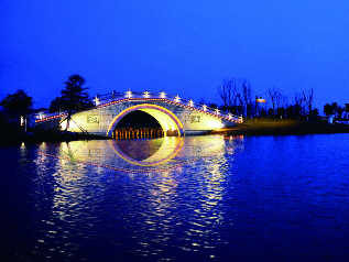 北湖景观桥