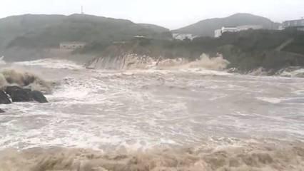 """台风""""安比""""23日抵达山东省 局地将有大暴雨"""