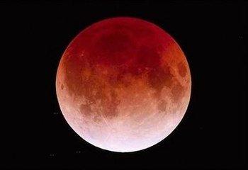 """本世纪持续时间最长""""红月亮""""将于28日现身天宇"""