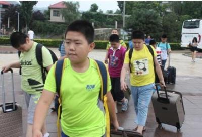 千赢娱乐市超体重学生健康夏令营开营 500名学生参加