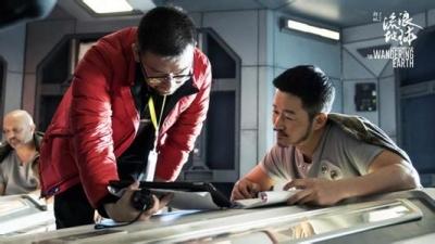 吴京《流浪地球》演宇航员 对中国科幻有信心
