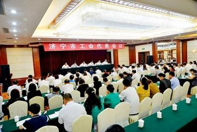 千赢国际市选举产生77名出席省工会十五大代表