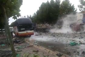 汶上县发布8月14日运输电石货车爆燃事故情况通报