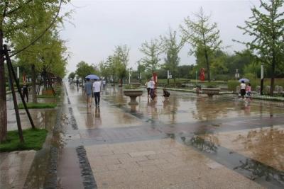 特大暴雨来袭!太白湖新区海绵城市建设经受考验