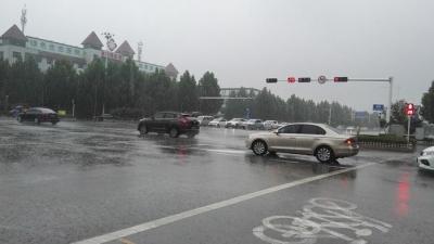 济宁降雨云团减弱  暴雨蓝色和雷电黄色预警解除