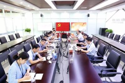 济宁高新区成立指挥部临时党支部统领推进项目建设