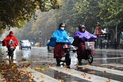山东本周两场降雨气温骤降 19日将现3℃低温