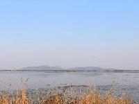 秋天的孟子湖,如梦一样