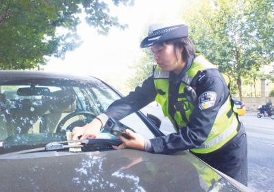 高新区交警违章信息实时上传,司机们别心存侥幸