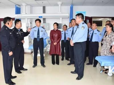 聊城市交警支队、市人民医院到济宁市第一人民医院西院区参观学习