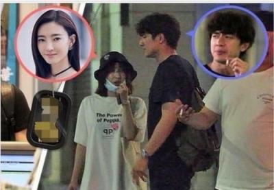 好事将近?网友偶遇王丽坤和林更新同看婚房(图)
