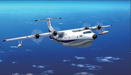 习近平电贺国产大型水陆两栖飞机AG600水上首飞成功