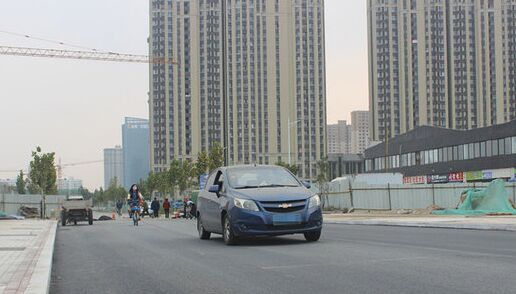 杨桥街北延工程通车 如何赚钱快又稳高新区无需再绕道东四路