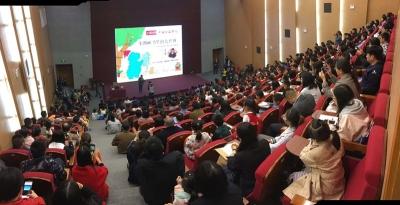 听台湾儿童文学作家余治莹谈阅读,点燃龙8孩子的读书梦
