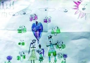 7岁小女孩捐骨髓救母亲:有点疼,但我忍住了(图)