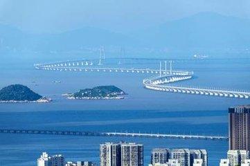 港珠澳大桥将于24日上午9时正式通车 全长55公里