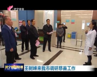中华慈善总会常务副会长王树峰来龙8调研慈善工作