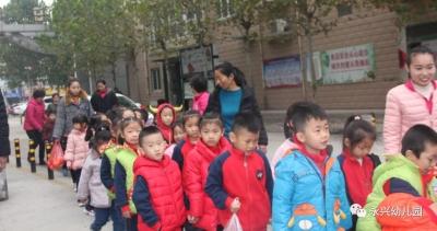 永兴幼儿园参观任城消防大队