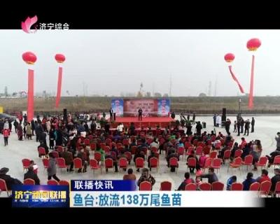 """鱼台展开增殖放流,138万尾鱼苗惠河安""""家"""""""
