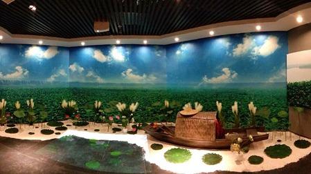 全省首家乡村振兴主题馆在微山湖畔建成开馆