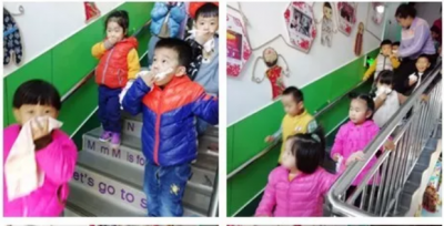 银座幼教南池公馆园举办消防演练活动