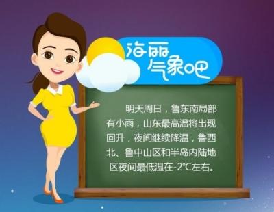 山东:今日气温下降1-3℃ 明日白天小幅升温