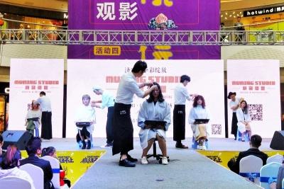 济宁小姐姐造型后秒变时尚女神 快来万达广场围观!