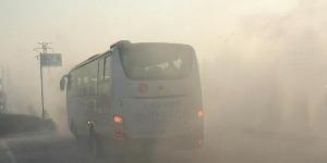 市民注意!大雾来袭 济宁城际公交暂缓发车