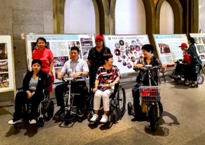 龙8残疾人又增福利,县级图书馆设视力残疾人阅读室