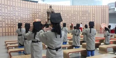 U赢电竞学院附属小学师生在曲阜开展儒家研学旅行