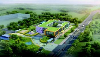关注!千亿国际886市机关幼儿园太白湖新园 明年9月迎新生