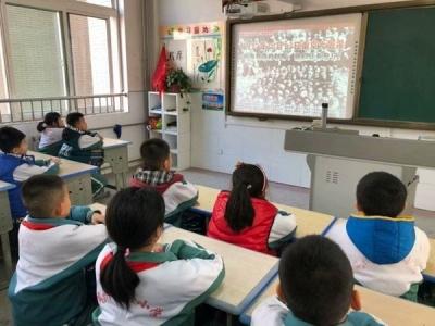 """兖州区实验小学举行""""国家公祭日""""爱国主题教育活动"""