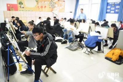 山东美术统考增速写科目 明年1月11日公布成绩