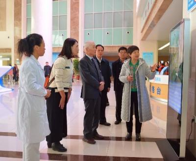 日本中部学院大学来济宁市第一人民医院东院区参观访问