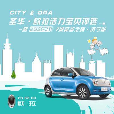 """济宁圣华·欧拉活力宝贝揭晓 """"CITY&ORA""""欧拉R1七城品鉴之旅完美收官"""