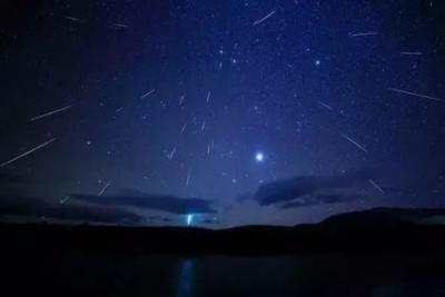 好看! 1月流星雨、亮金星、日偏食和月全食将亮相