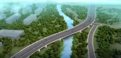 """老运河桥施工按下""""快进键"""" 桥梁主桥拼装工作全面展开"""