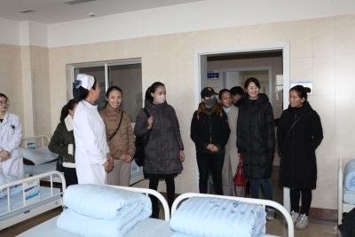 西藏日喀则市精神卫生医师转岗培训人员来市精防院进行学习交流
