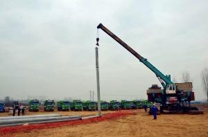鲁南高铁菏泽段打下第一桩!高铁主体工程进入全面建设阶段